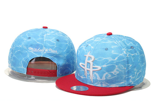 Houston Rockets Snapback Hat GS 0620